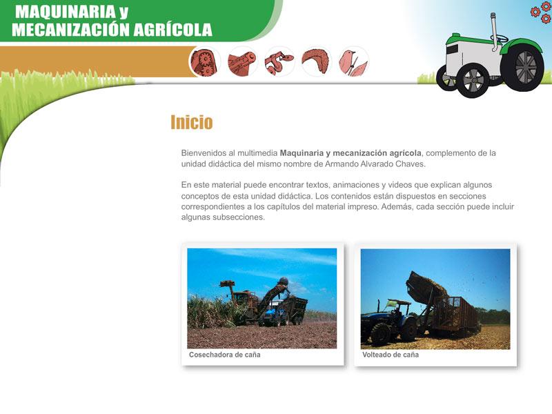 Detalle de Maquinaria y Mecanización Agrícola
