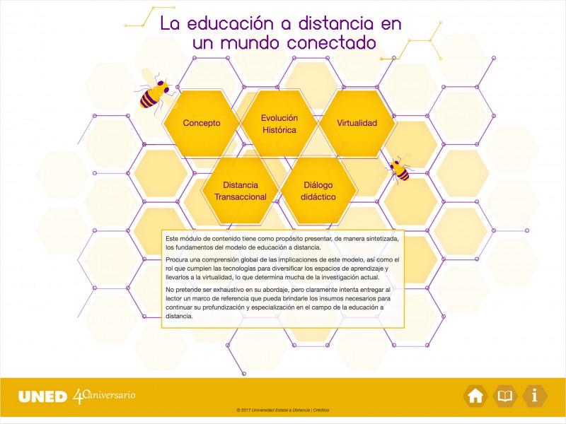 Detalle de La educación a distancia en un mundo conectado