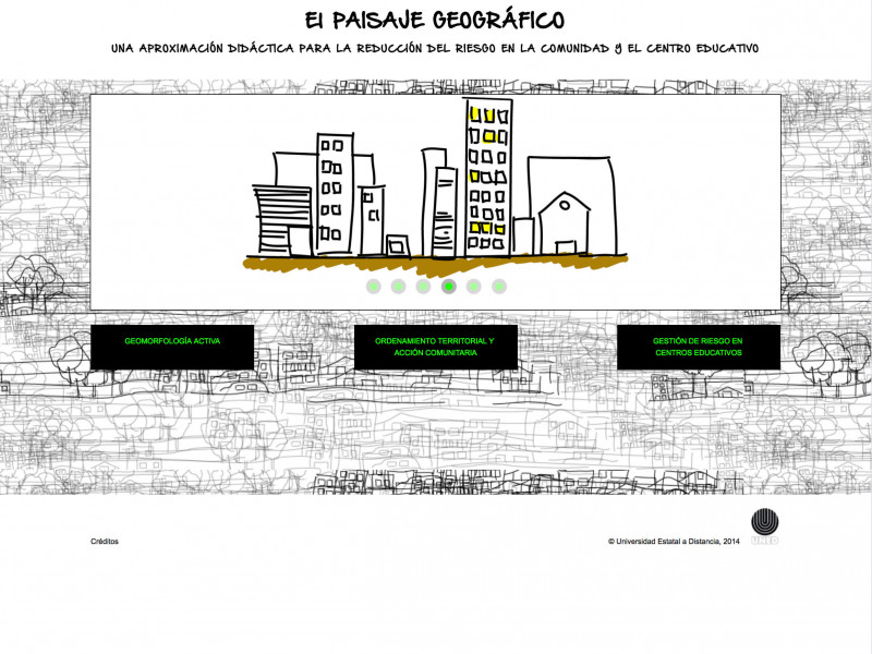 Detalle de El paisaje geográfico