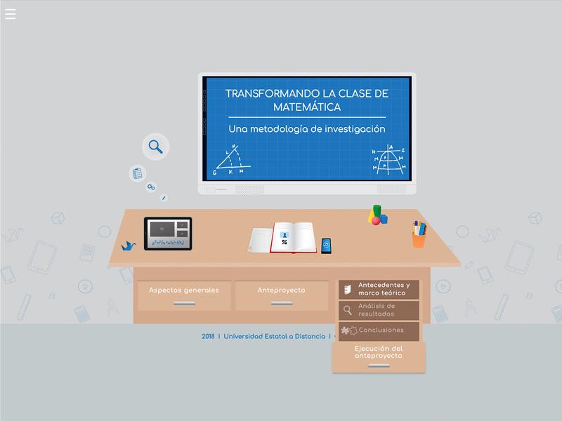 Detalle de Transformando la clase de matemática, una metodología de investigación