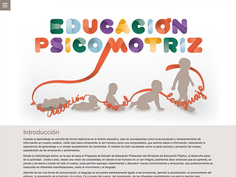 Detalle de Educación psicomotriz